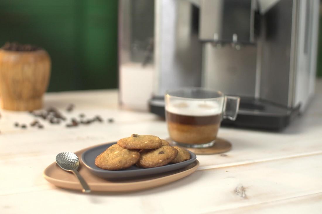 עוגיות שוקולד צ'יפס קפה