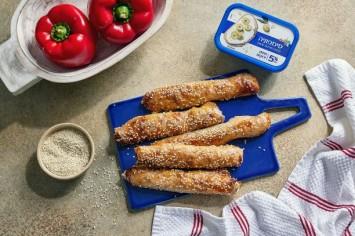 בורקס דפי אורז במילוי גבינות וירקות קלויים - למה לא כל יום שבת?