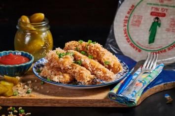שניצלונים ללא גלוטן - מתכון פטנט עם דפי אורז