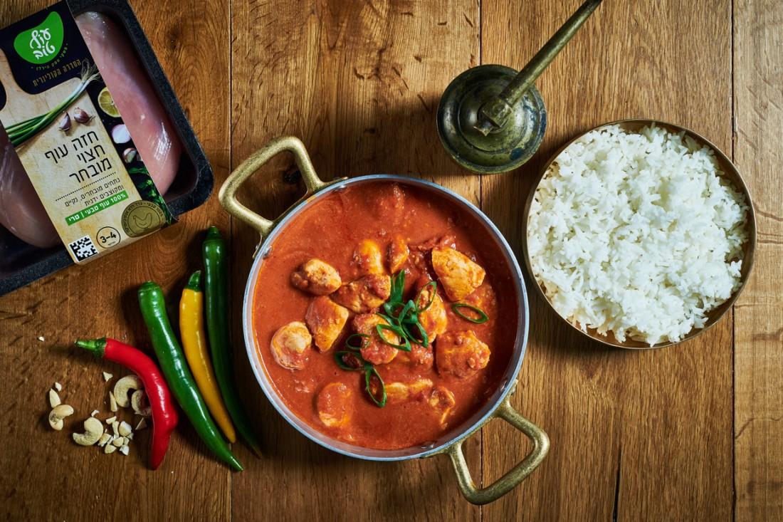 באטר צ'יקן - תבשיל עוף בסגנון הודי