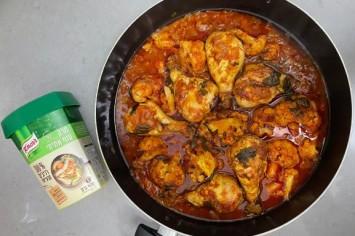 שופלור: תבשיל עוף עם כרובית בסגנון מרוקאי