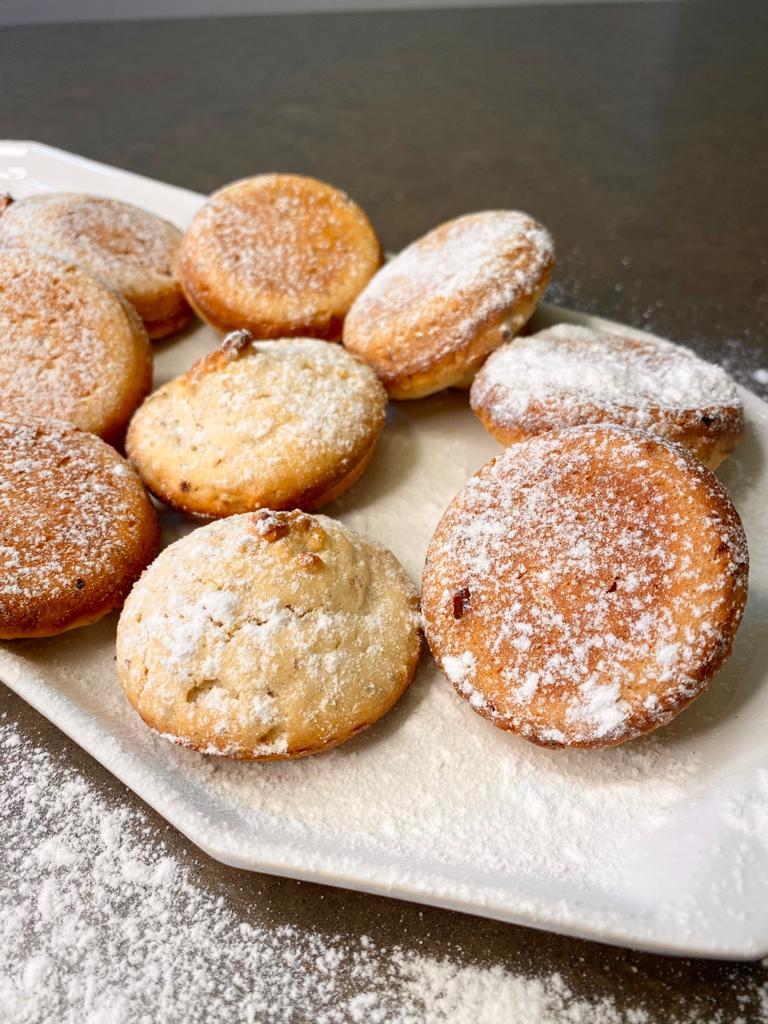 עוגיות חמאה חלב ואגוזים