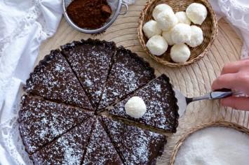 קרין גורן אופה פאי שוקולד קוקוס בקלי קלות