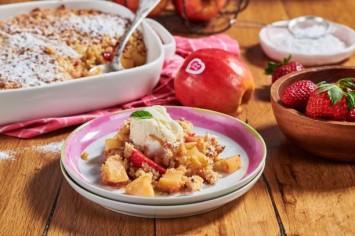 עוגת קראמבל תפוחים מטריפה!