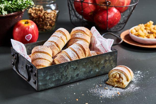 עוגיות שטרודל תפוחים 10