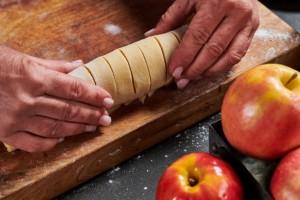 עוגיות שטרודל תפוחים 8