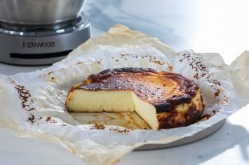 עוגת גבינה באסקית של קרין גורן