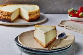 עוגת גבינה ושוקולד לבן מושלמת