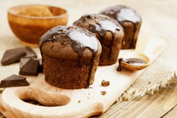 קאפקייקס שוקולד עם מרכיב סודי של קרין גורן