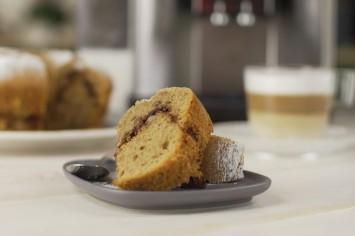 עוגה בחושה אספרסו, קינמון ופקאן