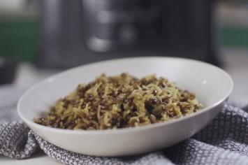 חמש דקות עבודה: מג'דרה אורז ועדשים נפלאה