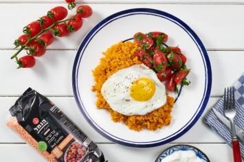 קיצ'רי – תבשיל אורז ועדשים אדומות מהמטבח העירקי