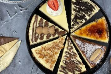 הסוד הוא בציפוי: עוגת גבינה בטעמים מפתיעים