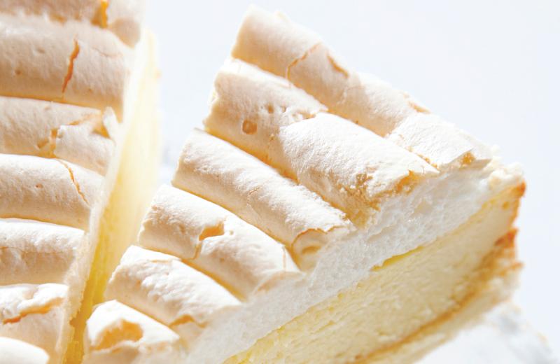 עוגת גבינה בשלוש שכבות