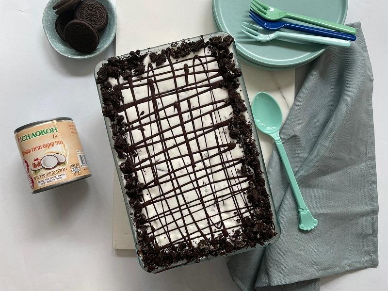 עוגת אוראו וקוקוס של רון יוחננוב 1