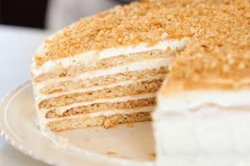 עוגת טורט דבש מרשימה של קרין גורן