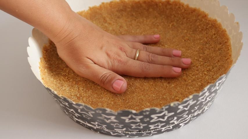 עוגת גבינה נוטלה 5