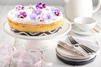 עוגת גבינה אפויה בטעם של פעם