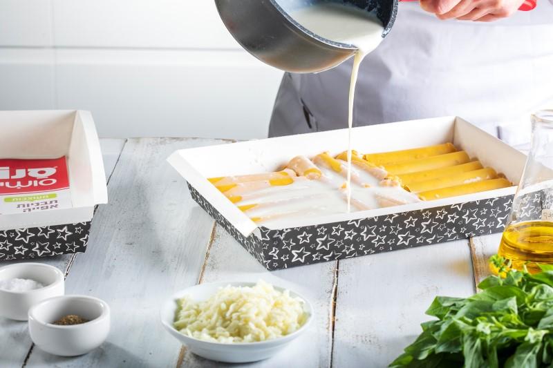 קנלוני גבינות ובטטה 5