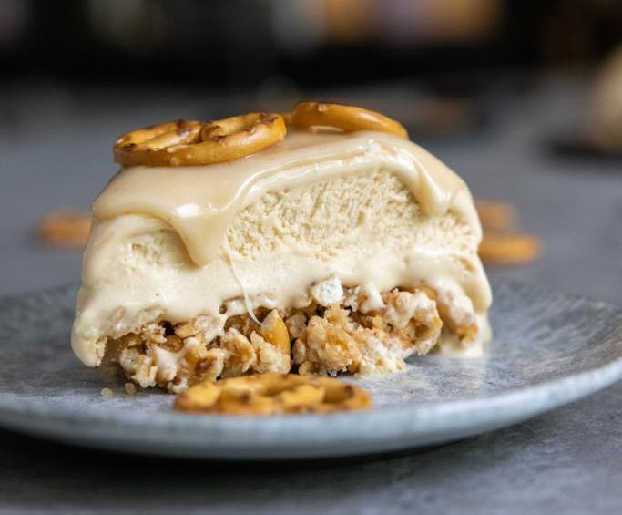 עוגת גלידה בייגלה מלוח 4