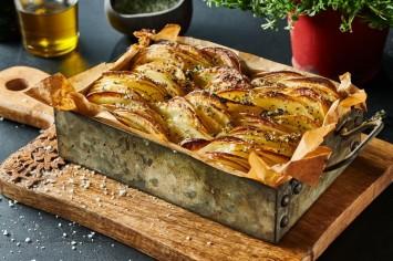 גראטן תפוחי אדמה עם מלח אורגנו: המטבח הצרפתי אצלכם בבית!