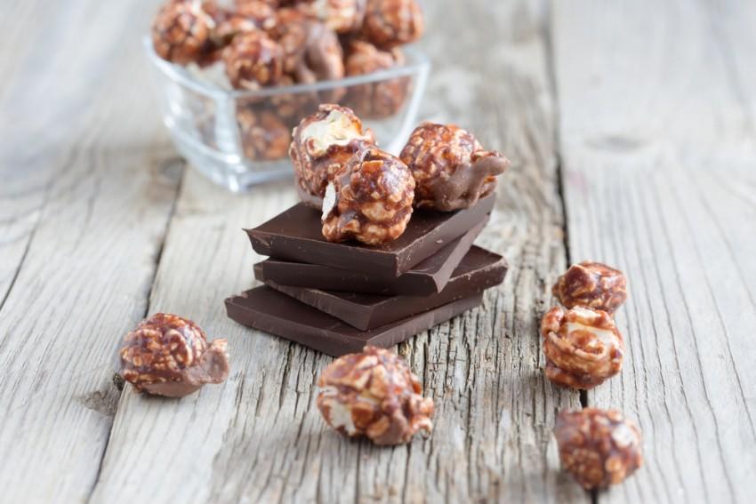 פופקורן שוקולד 1