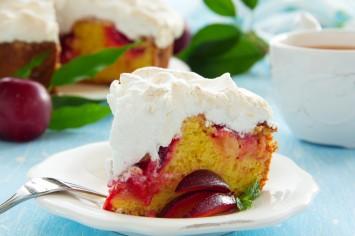 עוגת שזיפים של פעם