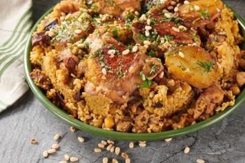 מקלובה עוף ובורגול: המנה החגיגית מהמטבח הערבי עם טוויסט
