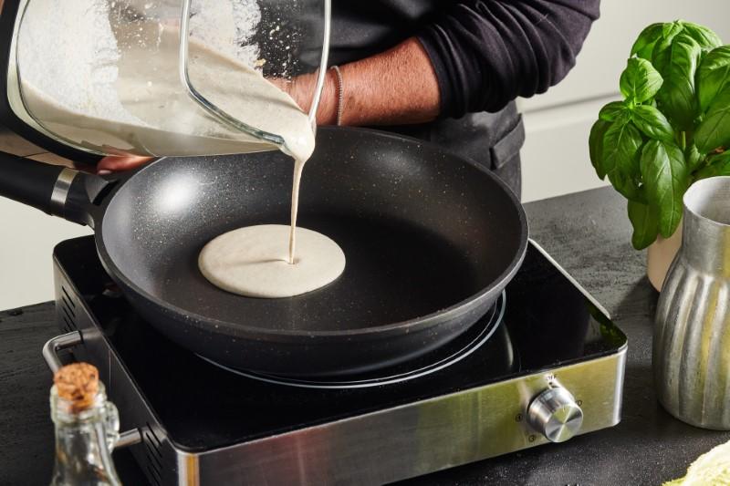 טורטיות בריאות במילוי אבוקדו וסלט ביצים 11