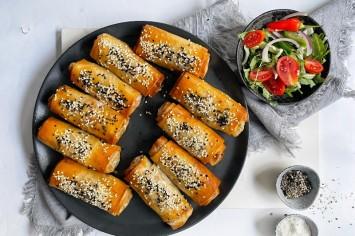 אגרול אפוי עם עוף וירקות - הלהיט הלוהט של רון יוחננוב