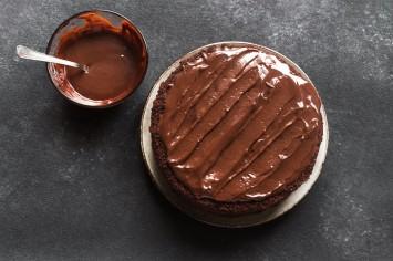 עוגת נוטלה מ-4 מרכיבים בלבד!