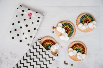 שרית נובק חולמת: עוגיות קשת בענן יפהפיות!