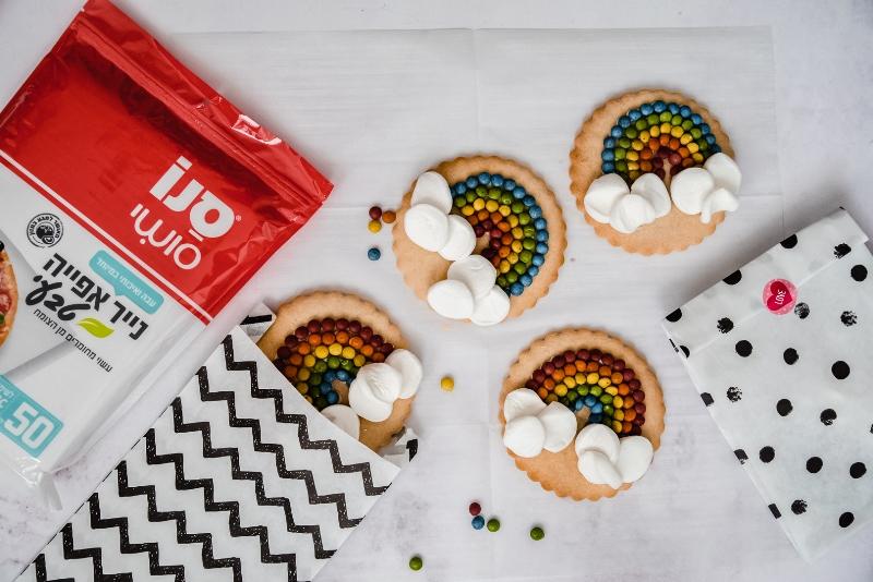 עוגיות קשת בענן 4