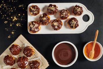 פינוק לשנה החדשה: פרופיטרול מוס דבש של עדי שילון