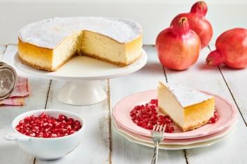 עוגת גבינה ודבש אפויה עם טריק גאוני!