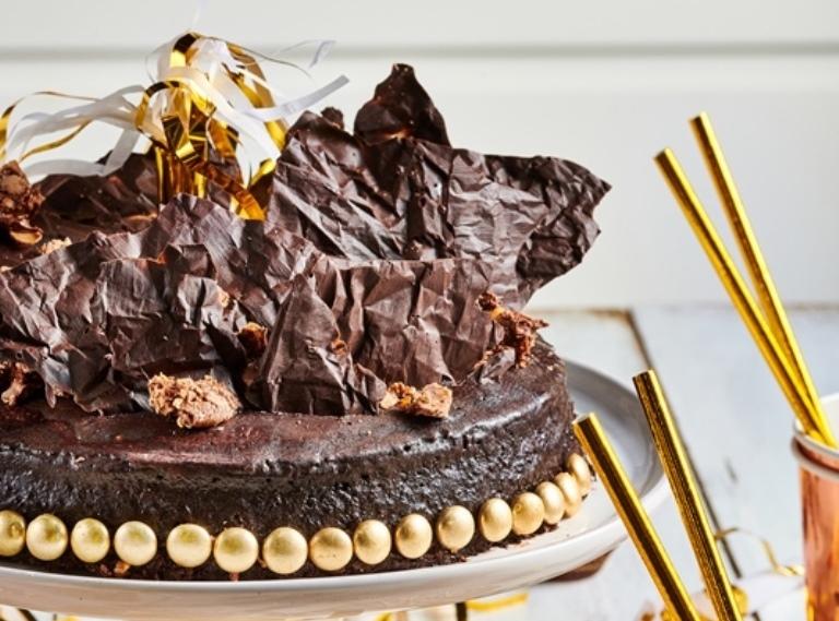 עוגת שוקולד יום הולדת2
