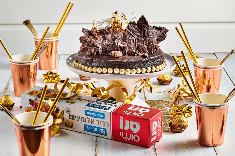 עוגת שוקולד יום הולדת 3