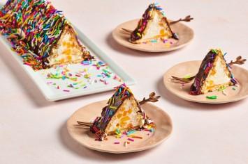 עוגת ביסקוויטים פירמידה כמו של אמא