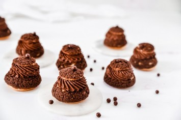 מתנות קטנות: פחזניות שוקולד חגיגיות