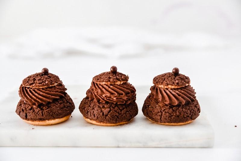 פחזניות שוקולד חגיגיות 3