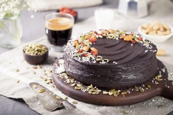 עוגת שוקולד ואבוקדו טבעונית ומפתיעה!