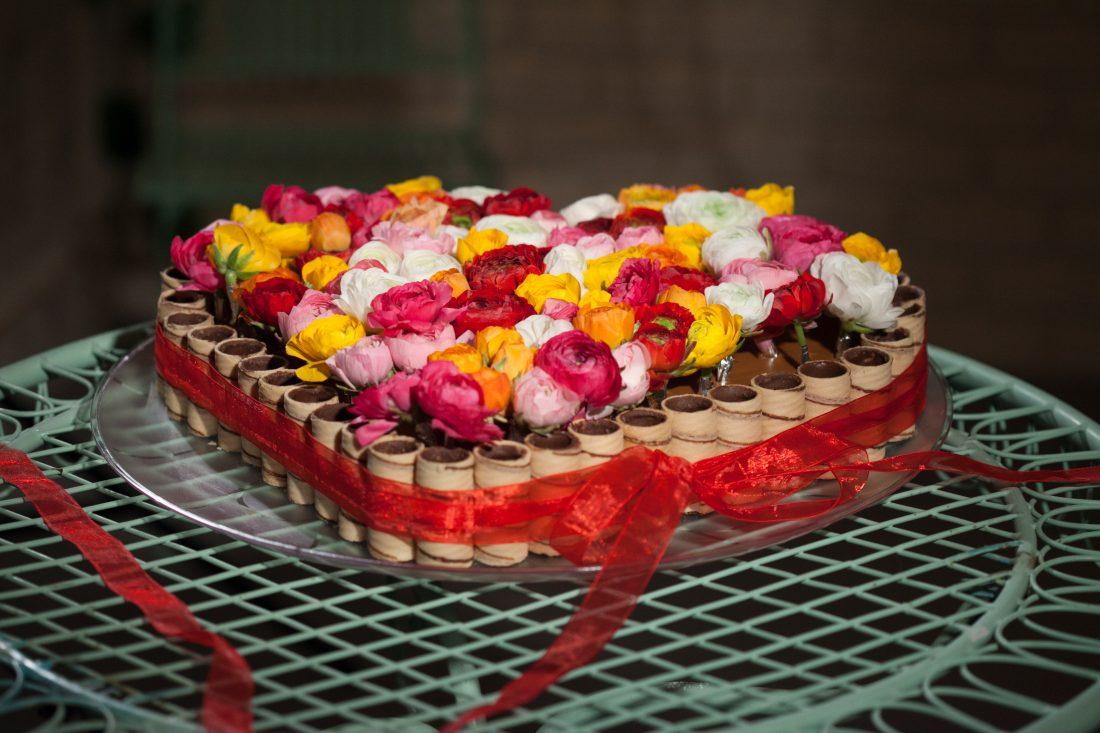 עוגת שוקולד גליליות