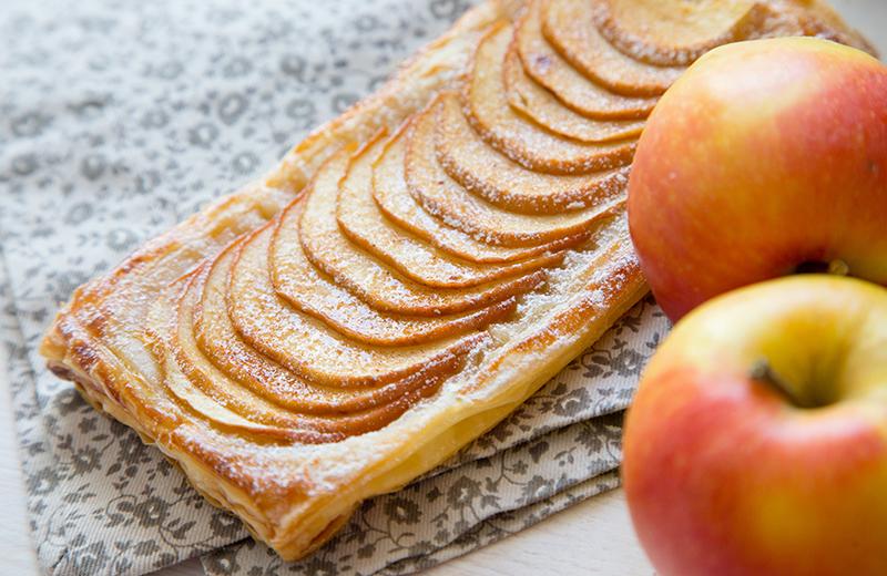 מאפה תפוחים זריז
