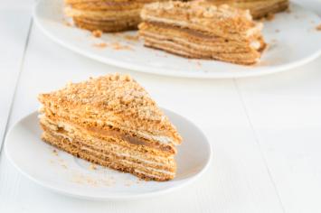 עוגת ביסקוויטים קרמלית