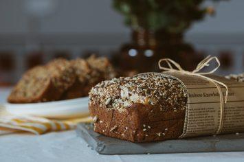לחם בריאות עם גרעינים