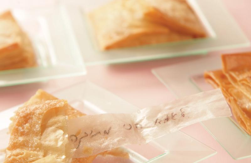 עוגיות הפתק הסודי. צילום: סטודיו קוקימדיה