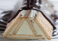 עוגת ביסקוויטים פירמידה. צילום: דניאל לילה