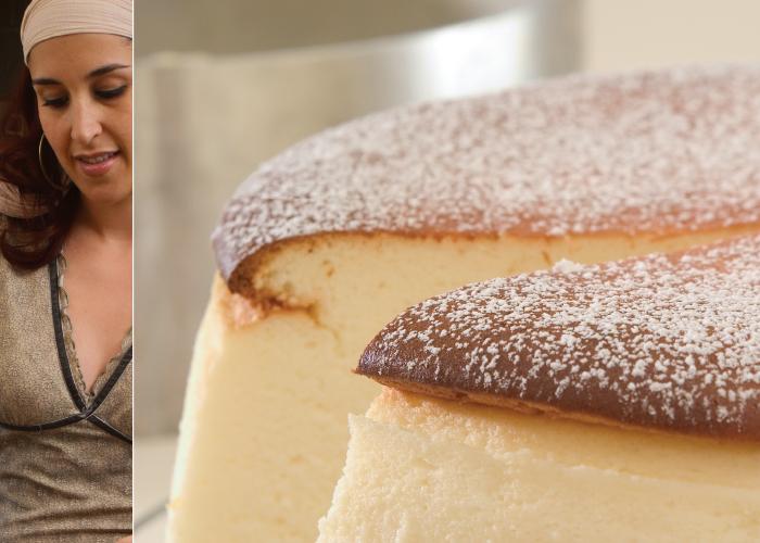 עוגת גבינה אפויה קלאסית. צילום: דניאל לילה