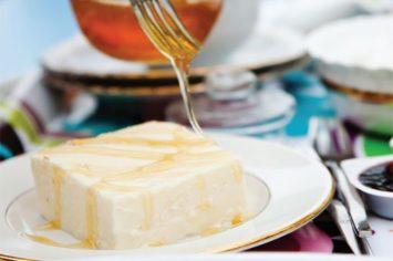 עוגת גבינה חמה של בית מלון