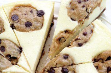 עוגת גבינה עם עוגיות שוקולד צ`יפס
